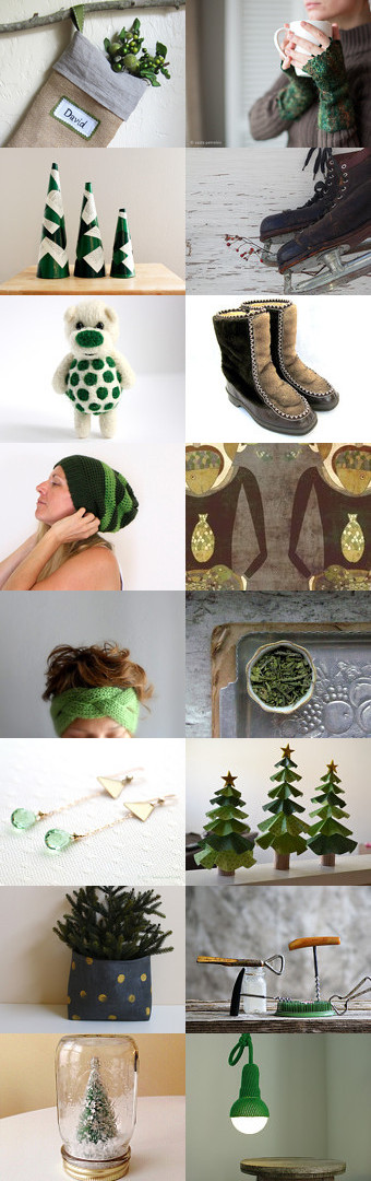 Christmas Countdown by Aga Farrell on Etsy--Pinned with TreasuryPin.com