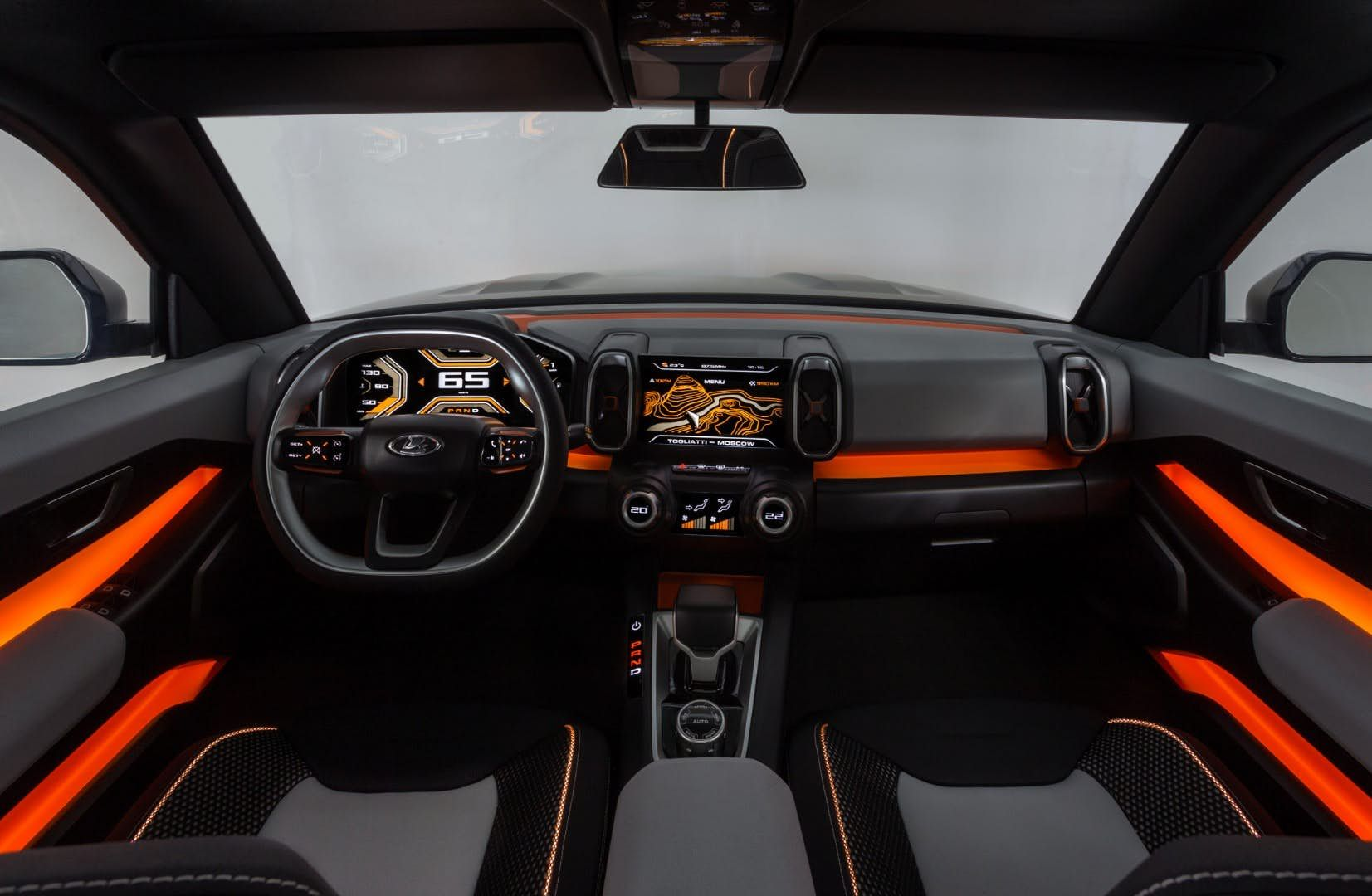 Lada keeps it rugged with 4x4 Vision concept SUV Automobile