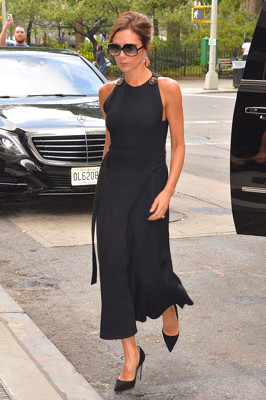 Victoria Beckham wearing her own collection - Best dressed celebrities this week: 28 September | Harper's Bazaar