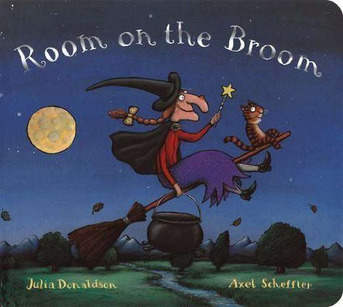 """Room on the Broom Board Book, shared by @mikeferg007 - """"...the story has a very positive message, be helpful and open to friends of all kinds."""""""