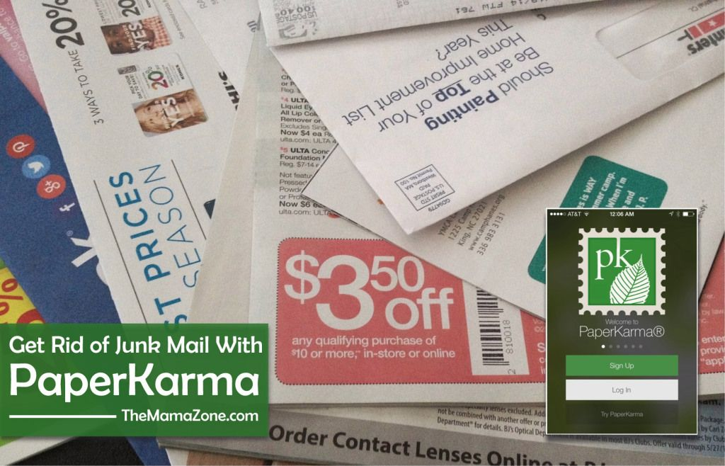 Get Rid of Junk Mail with PaperKarma Junk mail