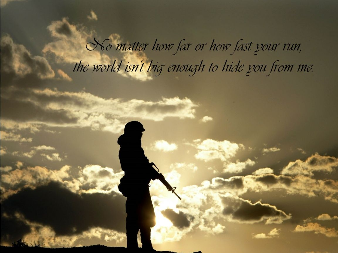 soldiers quotes / 1152x864 Wallpaper | ☆Army☆ wife life