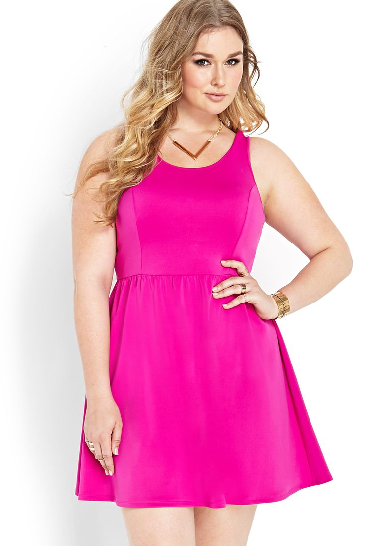 Pink dress forever 21  Love this  Neon neon everywhere Love it  Pinterest  Forever