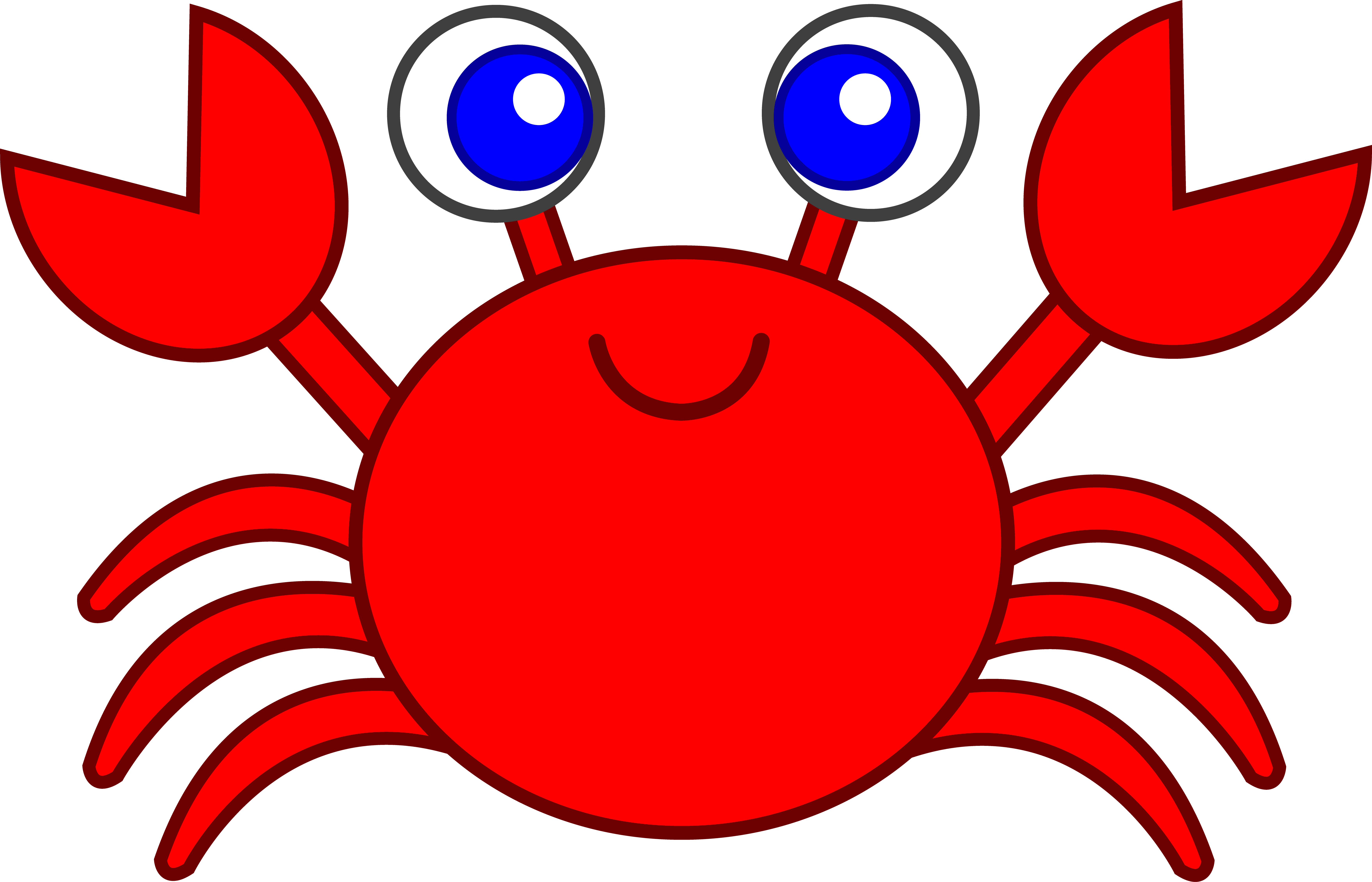 cute red crab clip art free clip art templates 2 pinterest rh pinterest com clipart cabinets clip art crab pictures