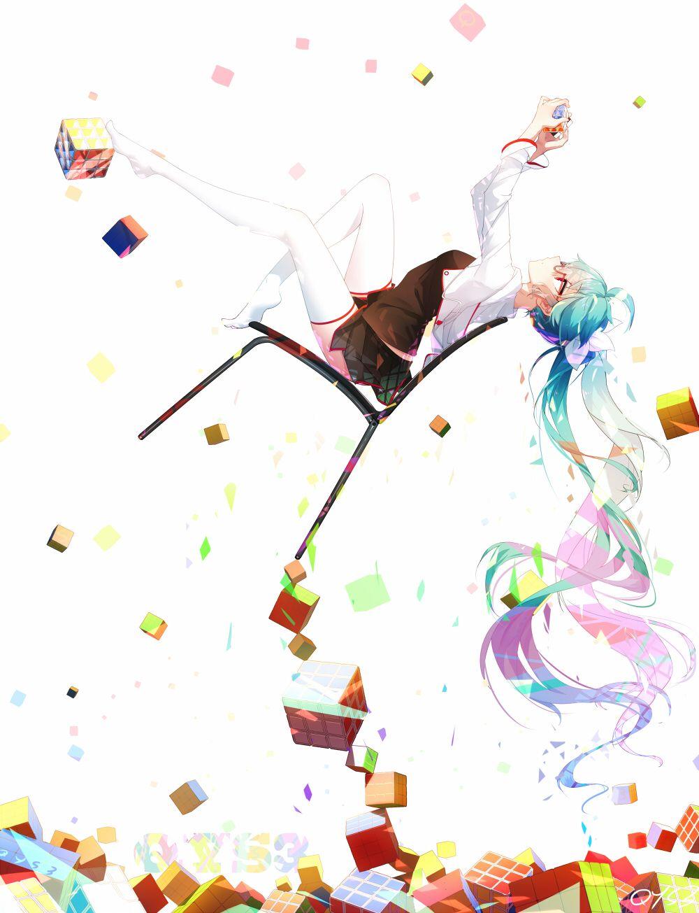 Miku. [Vocaloid]