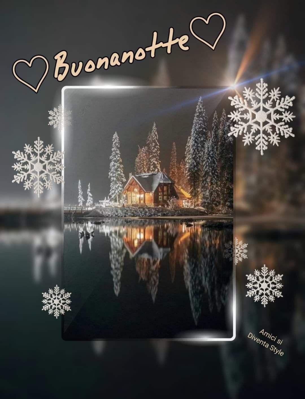 Buonanotte Dicembre Buonanotte Auguri Di Buona Notte E Immagini