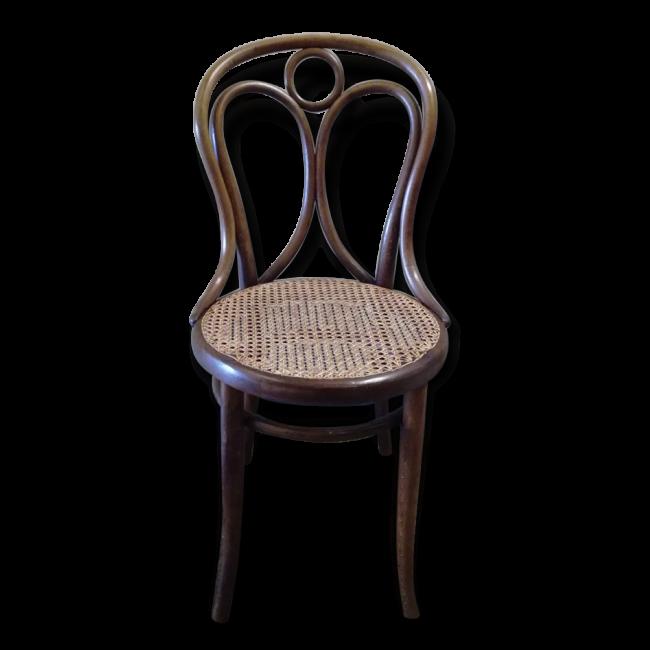 Chaise bistro n°18 signée thonet vendu par Le Chaisier Art Paris
