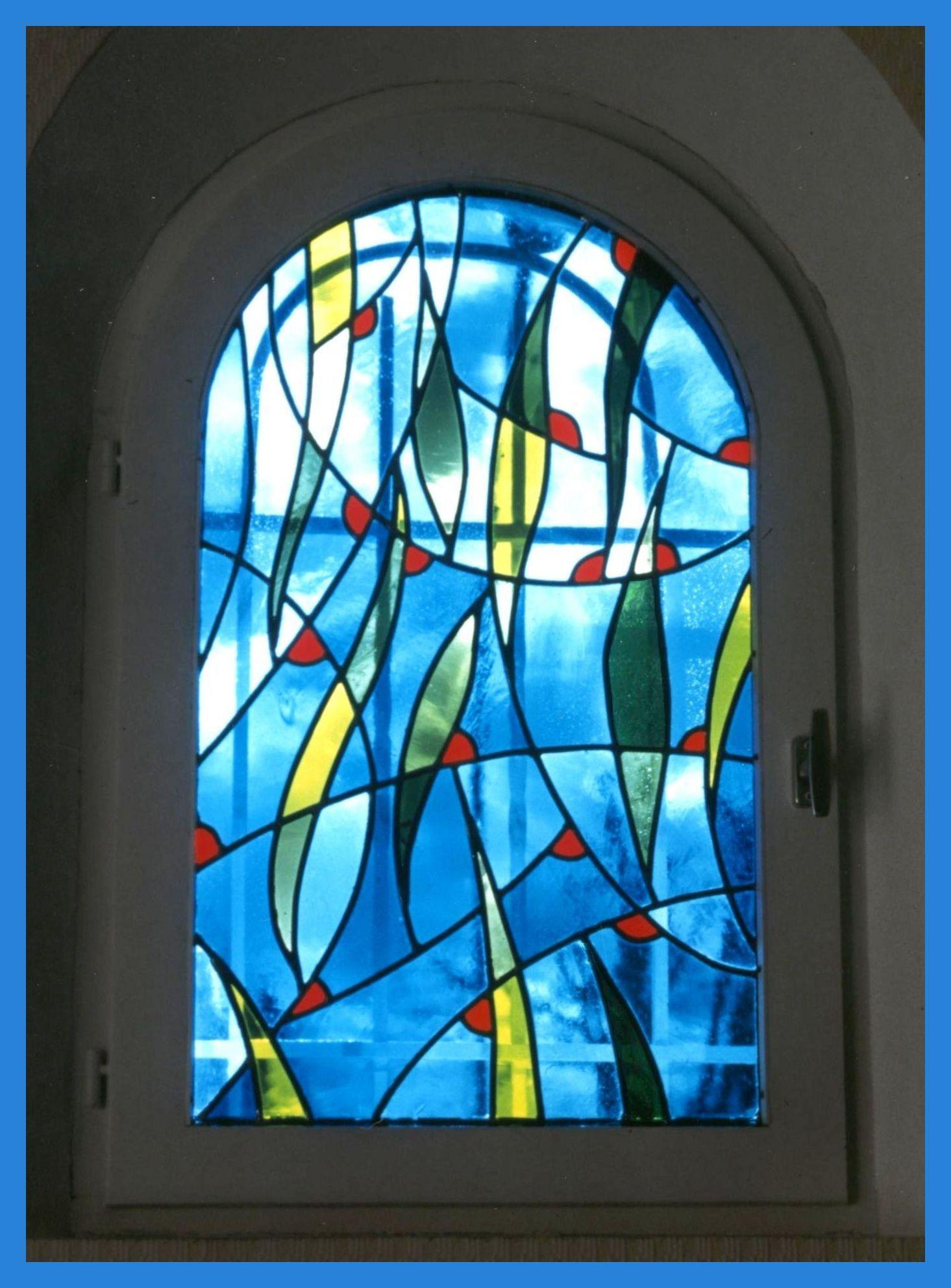fenestron moderne le vitrail pour les fen tres le vitrail