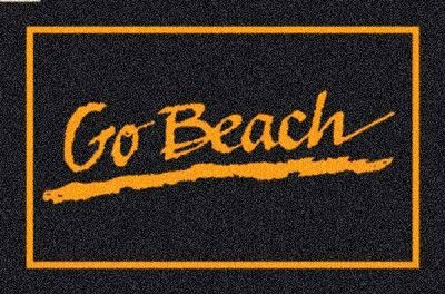 Long Beach State 49ers Team Logo Area Rug Long Beach State