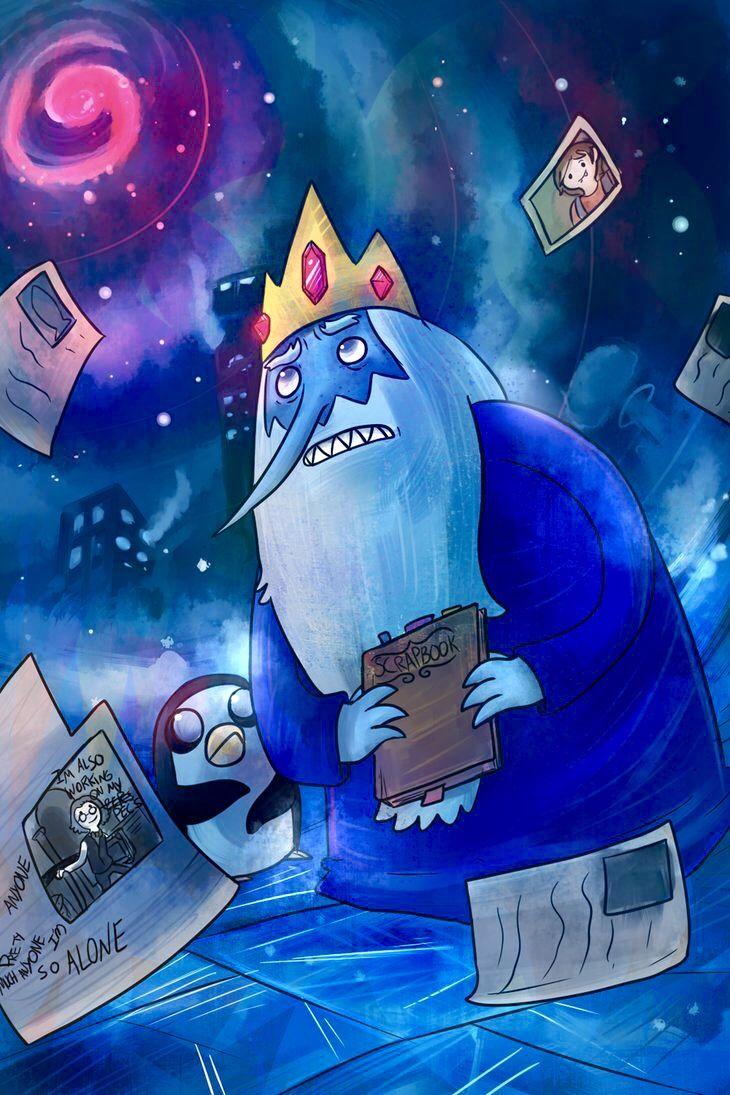 I've got a way tortured past Uzay boşluğu, Kral