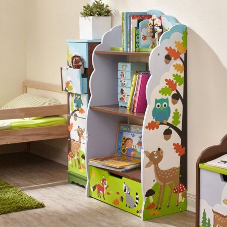 Fantasy Fields Enchanted Woodland Bookshelf Bookshelves Kids Kids Bookcase Kids Furniture