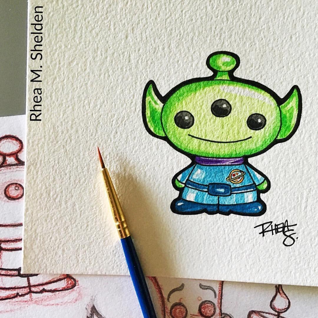 Instagram Photo By Artist Teacher Learner Jul 10 2016 At 9 09pm Utc Toy Story Tattoo Disney Character Drawings Disney Drawings