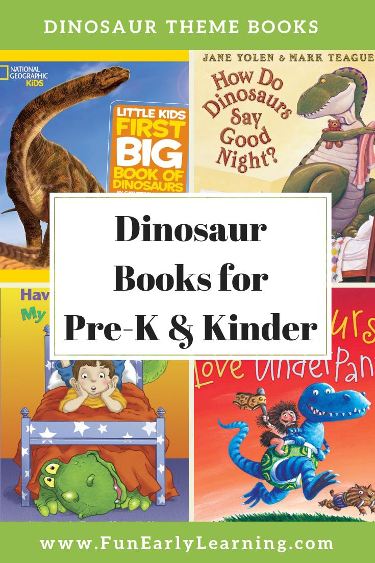 Favorite Dinosaur Books for Preschool and Kindergarten