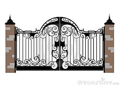 Open Gates Clip Art That Once