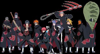 Daftar Tokoh dan Karakter Manga/Anime Naruto Animasi