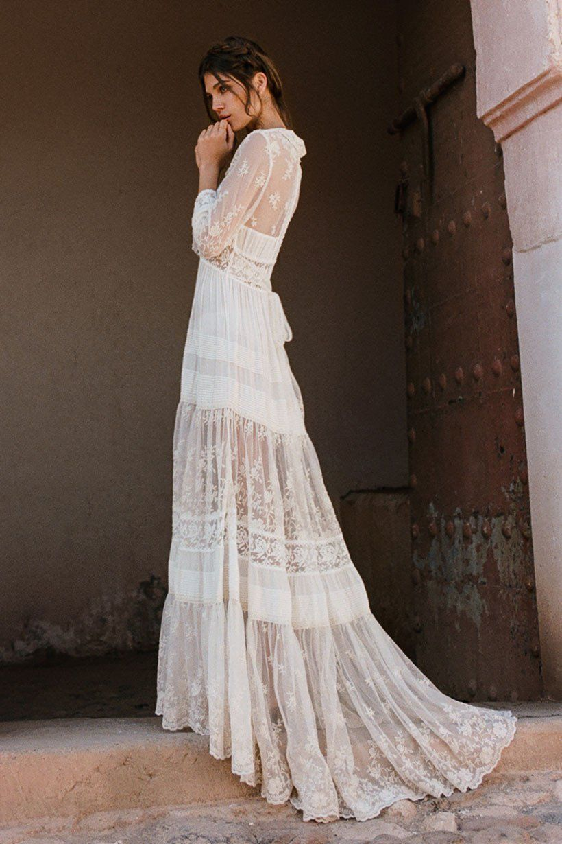 Evangeline Gown | Pinterest | Spell designs, Gowns and Bohemian