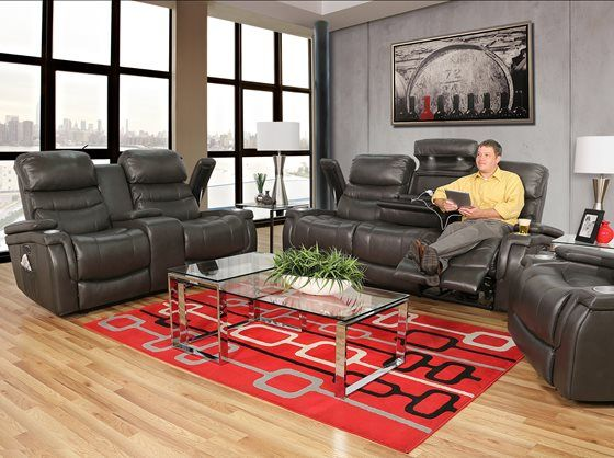 The Sirius 5 Piece Living Room Group Consist Of A Nbsp Leather Power Reclining Sofa With Living Room Collections Power Reclining Loveseat 5 Piece Living Room