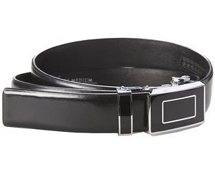 1416a904a Original Gift Company Touch-Adjustable Belt, Size Small, Leather From Cole  Bros,