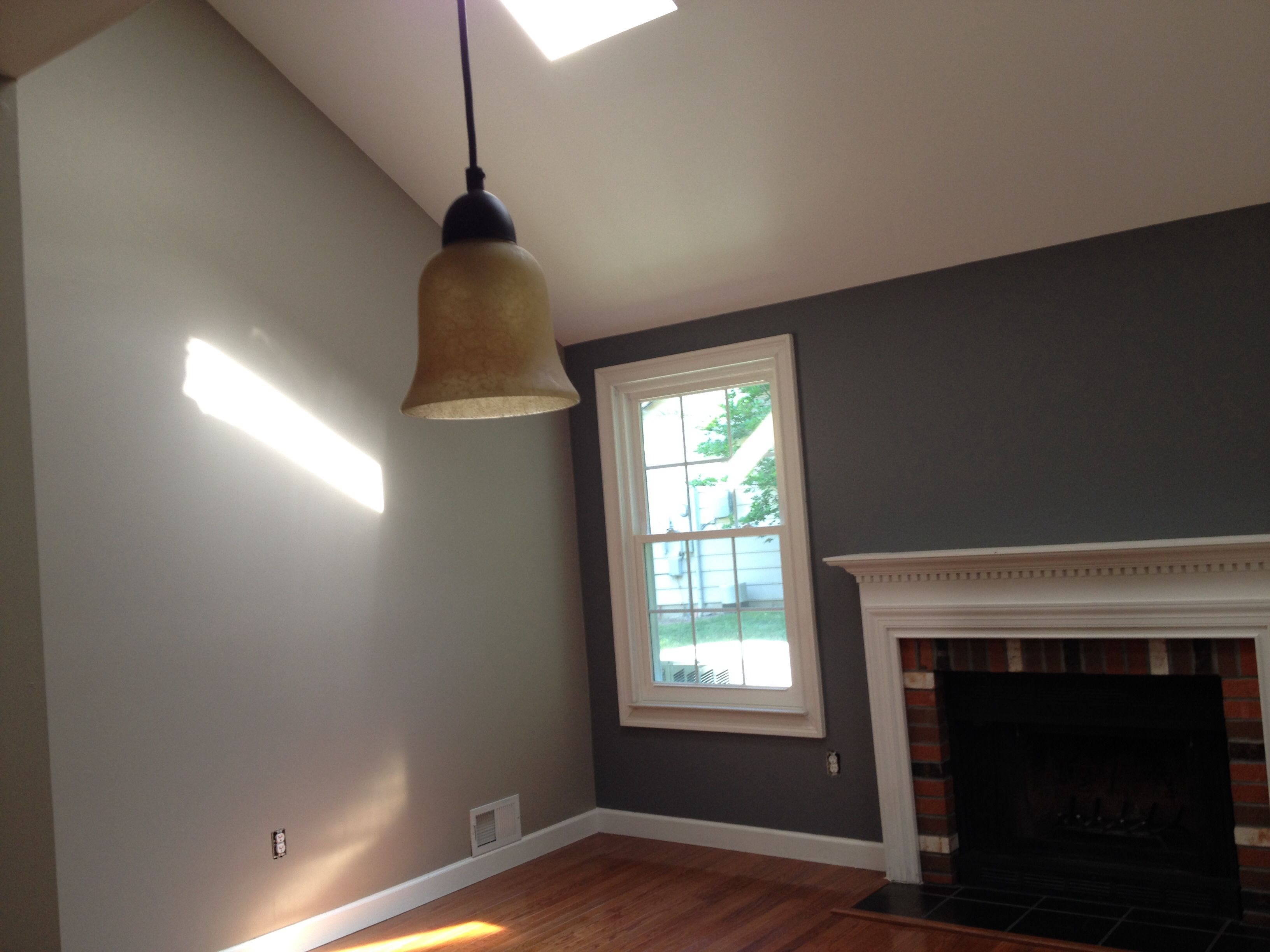 Benjamin Moore Rock Grey And Plymouth Indoor Paint Colors