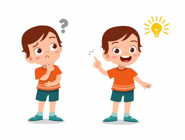 Kid Boy Thinking Face Kid Character Character Design Cartoon Kids