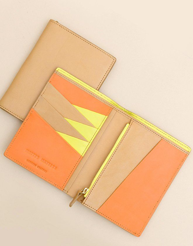 Matter Matters Passport wallet, featuring pockets, card slots, Passport slots and a bill compartment, this piece is perfect for Traveling . •Natura...
