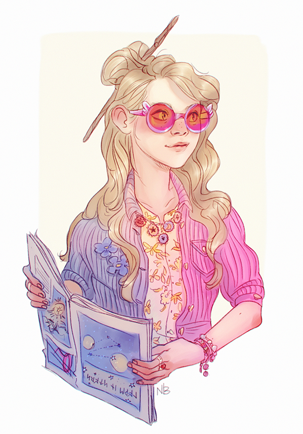 Luna By Natello On Deviantart Harry Potter Drawings Harry Potter Fan Art Harry Potter Art