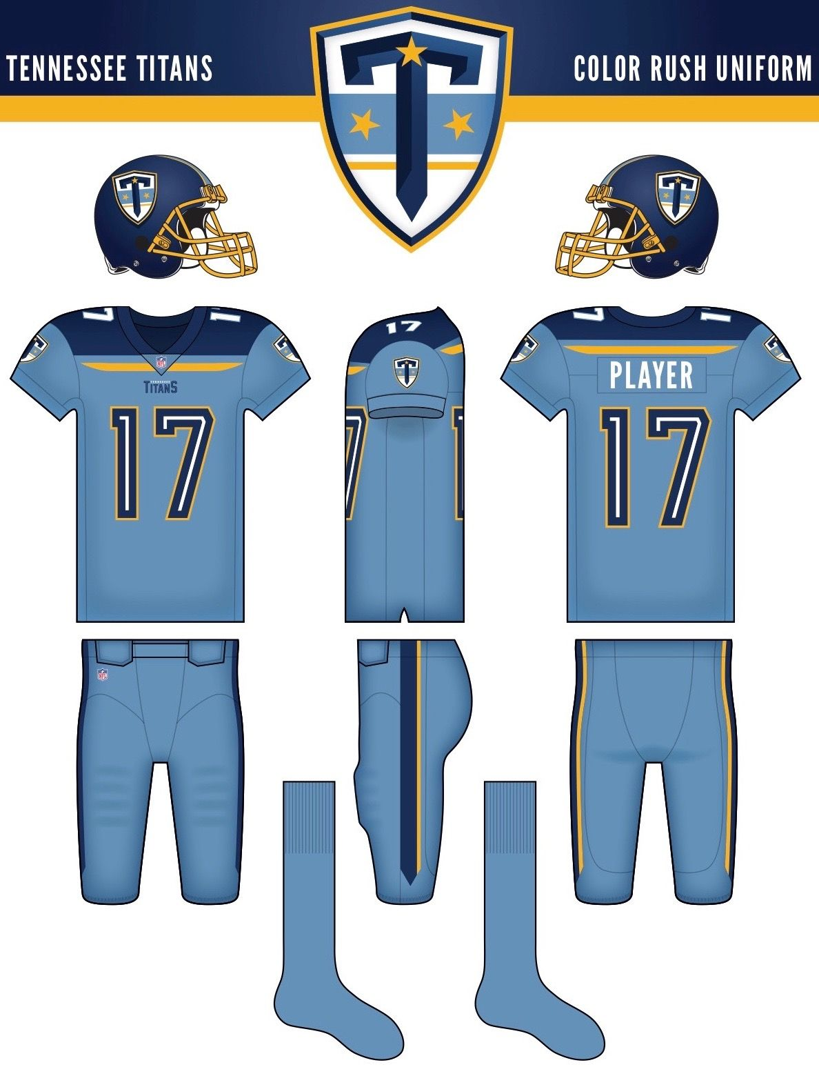Who won our Titans redesign contest? Color rush uniforms