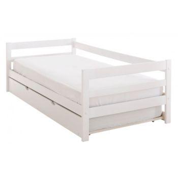 lit cosy 90x190 cm blanc lit balthi pinterest lits chambre enfant et futur. Black Bedroom Furniture Sets. Home Design Ideas