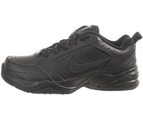 nice Nike Men's Air Monarch IV (4E) Training Shoe Black/Black 14