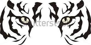 Resultado De Imagen Para Caras De Tigres Dibujos Dibujos