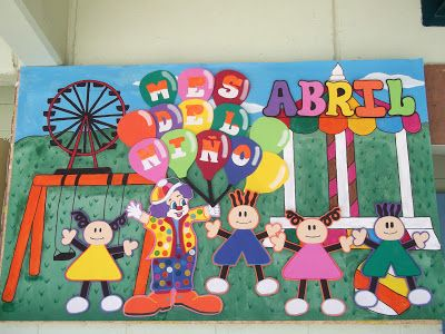 Decoraciones infantiles the teacher festejos para los for Manualidades decoracion infantil