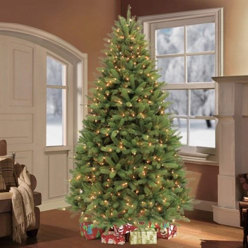 Puleo International 75 Pre-Lit Douglas Fir Premier Artificial