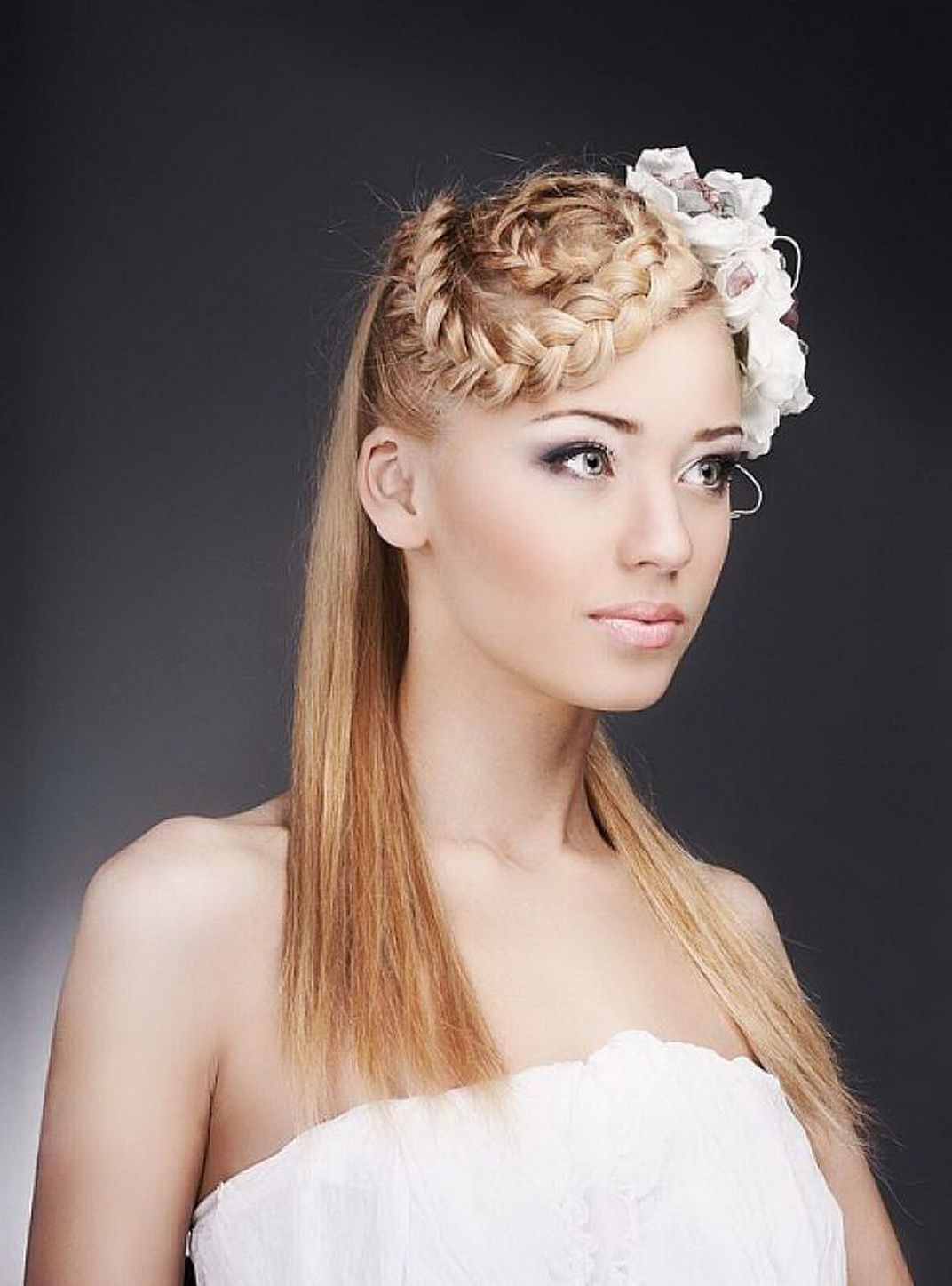 cute hairstyles for long haircut straight hair with ...