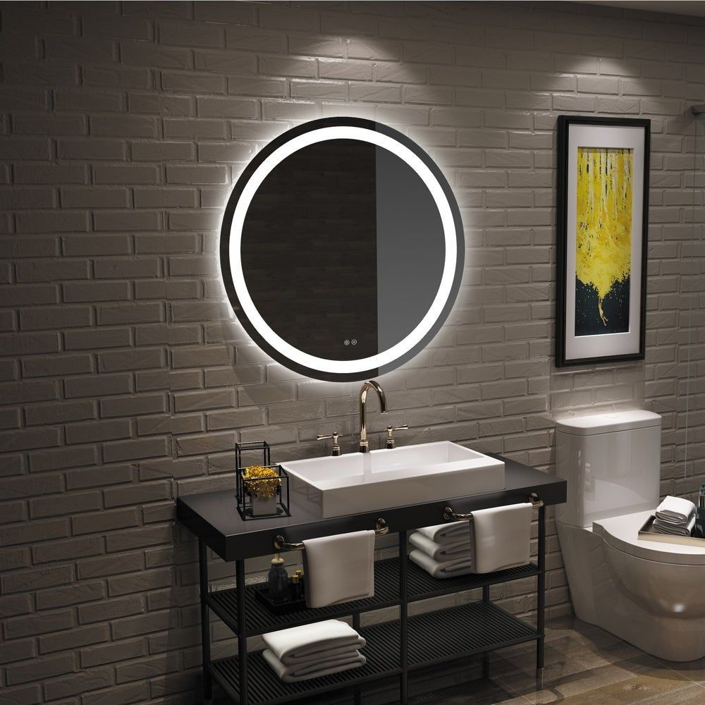 Mirrors Led Mirror Bathroom Bathroom Mirror Round Mirror Bathroom [ 1000 x 1000 Pixel ]