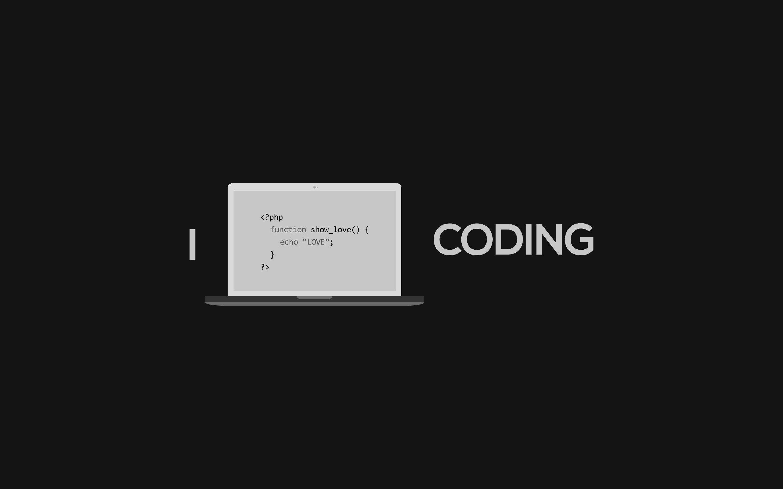 minimalistic programming wallpaper 1366x768 - photo #15