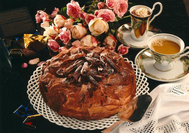 Schokoladen-Trüffeltorte Rezept | LECKER