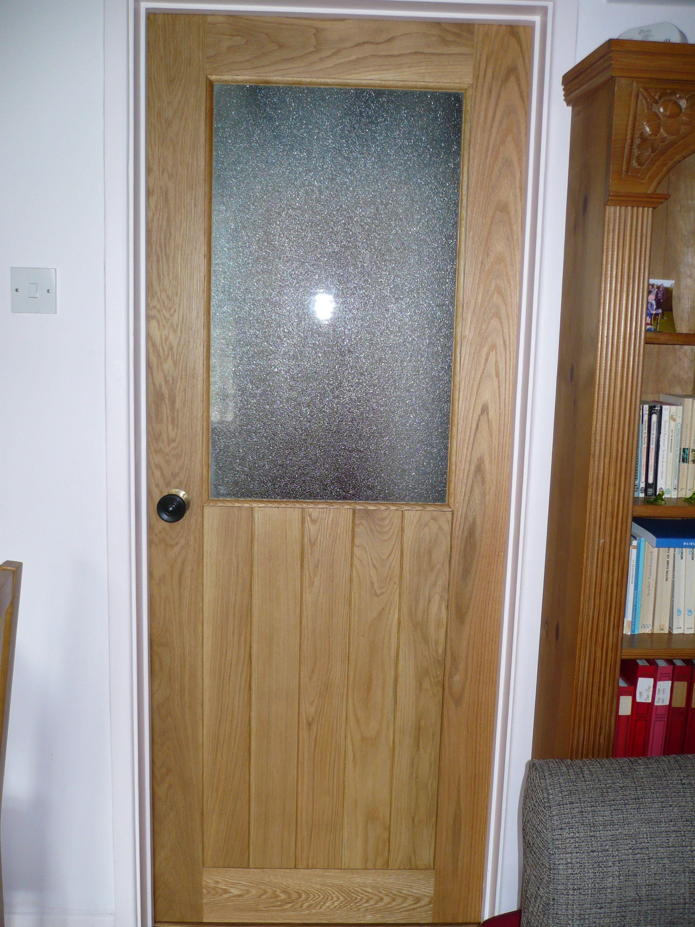Ledge and brace oak doors - Solid Oak Glazed Suffolk Internal Door Oak Suffolk Traditional Door Frame And Ledge Glazed