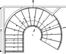 Super Curved Stairs Plan Railings 23 Ideas Stair Plan Round Stairs Spiral Staircase Plan