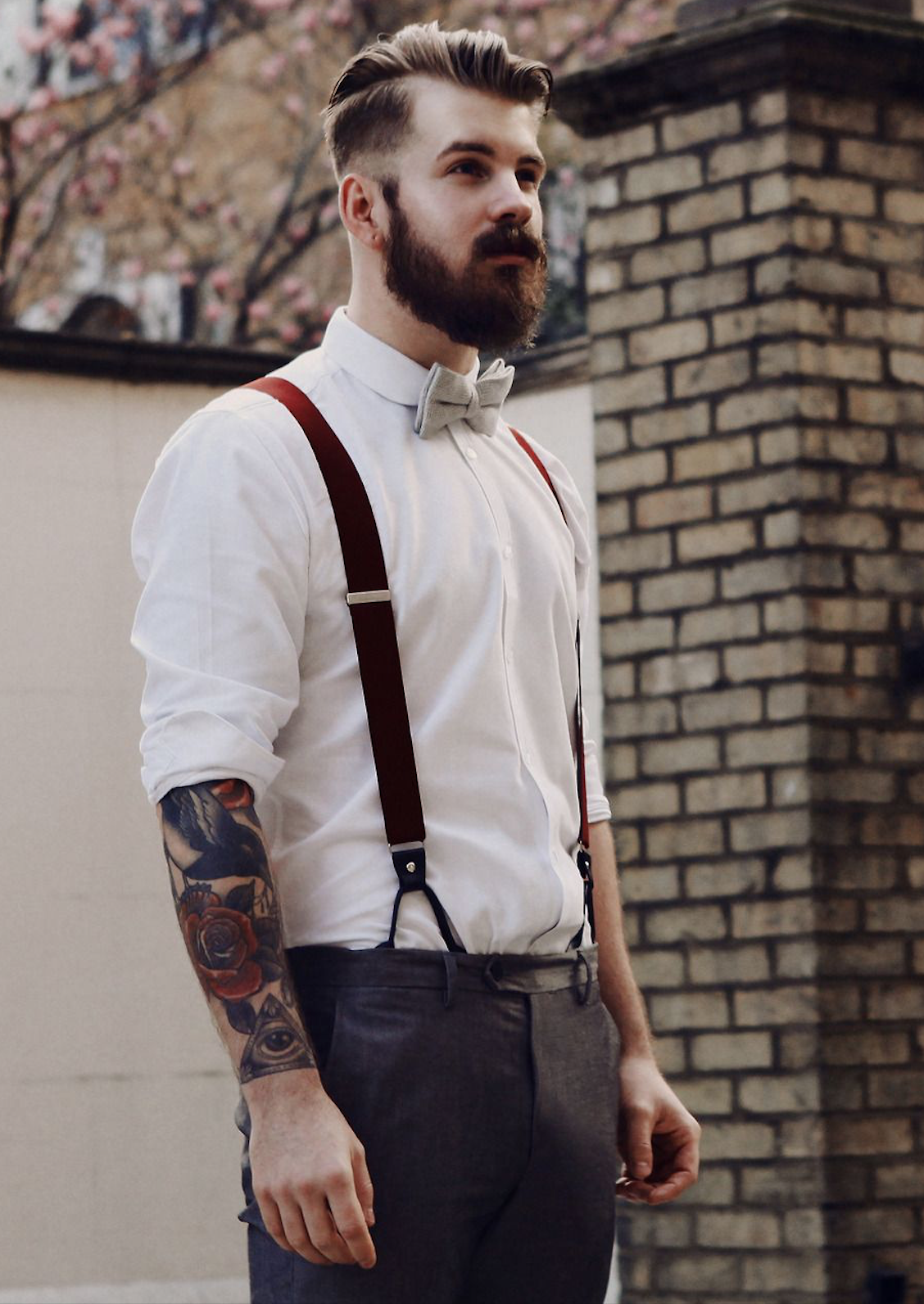Classy And Vintage Menswear And Outfits Suspenders Men Fashion Vintage Clothing Men Hipster Mens Fashion