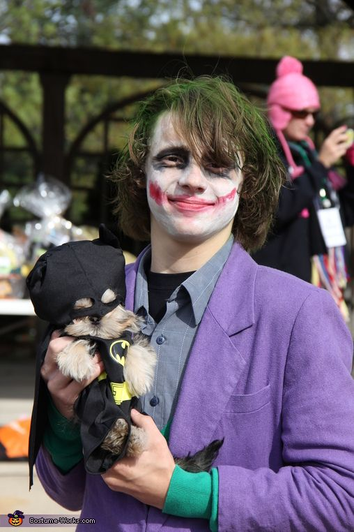 Batman and Joker Costume  sc 1 st  Pinterest & Batman and Joker - Halloween Costume Contest at Costume-Works.com ...