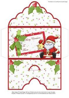 image about Printable Christmas Envelopes referred to as Absolutely free+Printable+Xmas+Economical+Holders xmas