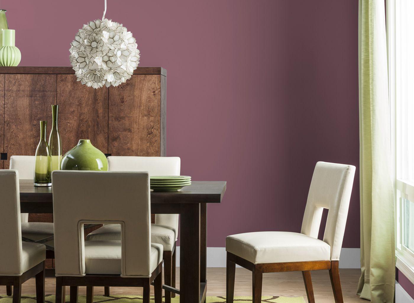dining room in capri rose | decor | pinterest | trends magazine