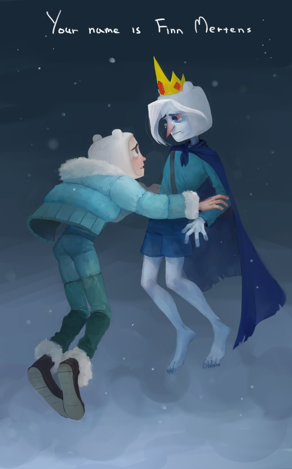 Adventure Time Finn Mertens Ice King Farmworld Adventure
