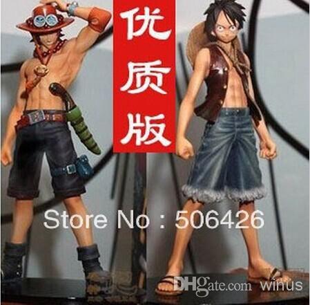 2013 New Arrive Japan Anime One Piece Monkey.D.Luffy Portagas D Ace Pvc Figure Set,Toys Gifts., $11.17 | DHgate.com