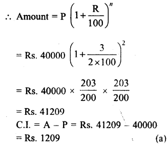 RS Aggarwal Class 8 Solutions Chapter 11 Compound Interest
