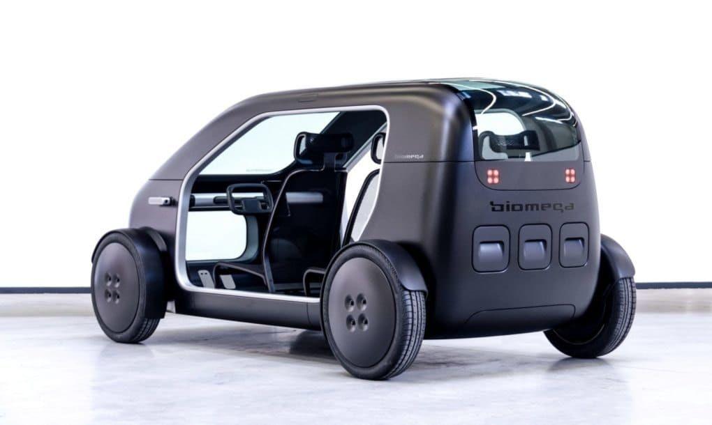 Biomega Presenta Un Coche Eléctrico Minimalista De Bajo Coste Para La Ciudad Coche Eléctrico Coches Auto Electrico