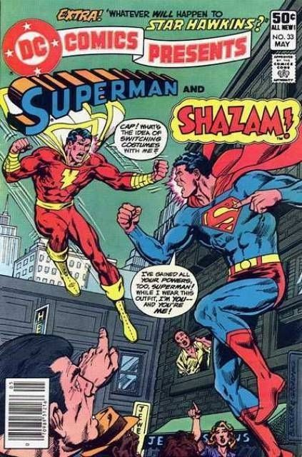 DC Comics Presents: Superman And Shazam (Captain Marvel