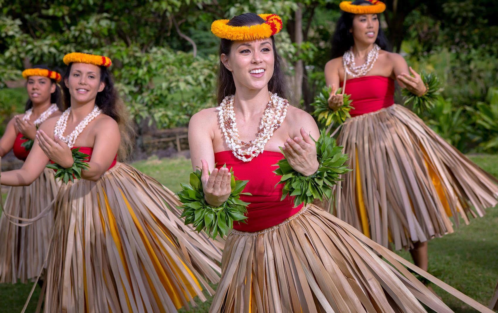 Hula Girl Festival Hawaiian Hula Dance Hula Dance Hawaiian Outfit