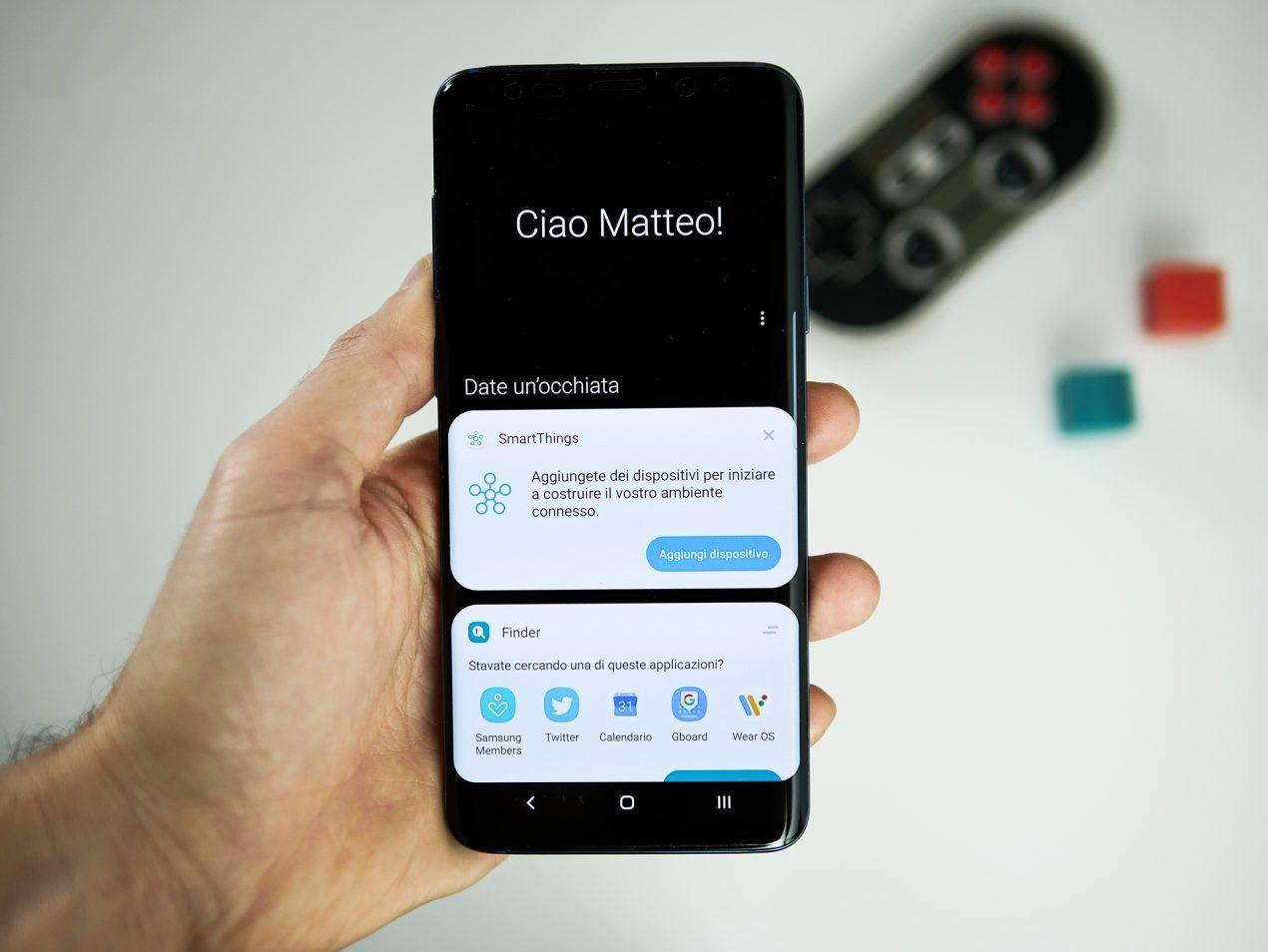 Samsung anticipe l'arrivée d'Android 9 Pie et ajoute