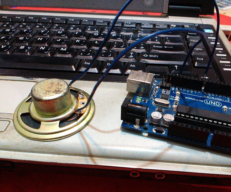 How to Generate Tones With Arduino | robotica